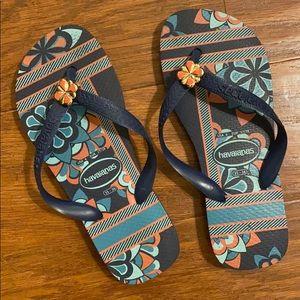 Women's Havaianas flip-flops. Like new